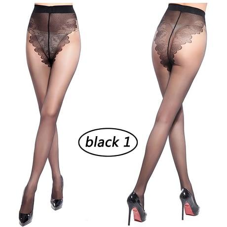 Sexy Stockings, Thin Tights High Elastic Women's Lingerie, Nylon Pantyhose Long Thigh 2