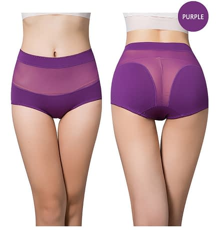 Women's Cotton Underwear Panties, Girls, Sexy Lace Briefs, Hollow Out, High-Rise Ladies Lingerie 1