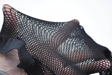 Women's Sexy Backseam Fishnet Pantyhose, Thigh High With Bows Hosiery 3