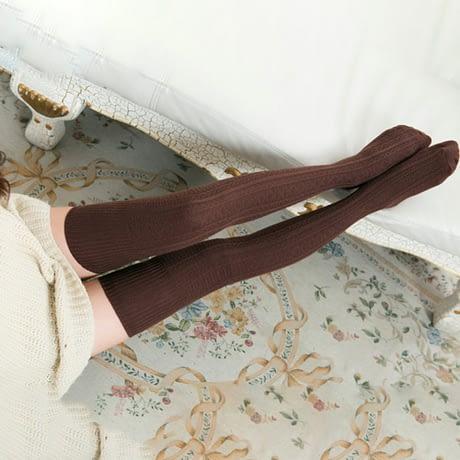 Knee Socks, Women's Cotton Thigh High Over The Knee Stockings, Ladies, Girls, Warm Long Stocking Sexy 2