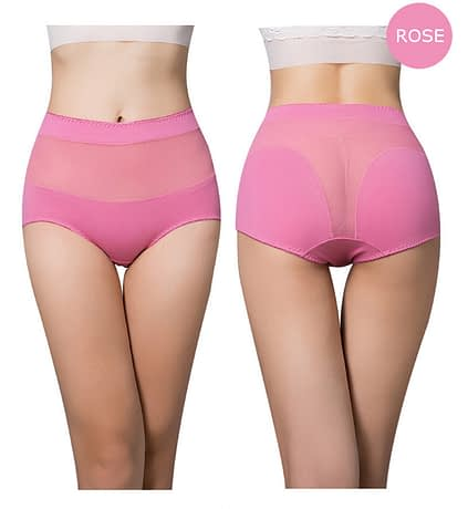 Women's Cotton Underwear Panties, Girls, Sexy Lace Briefs, Hollow Out, High-Rise Ladies Lingerie 2