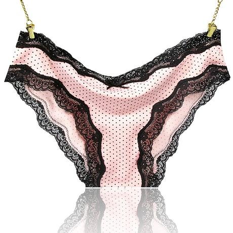 Women's Underwear Cotton Sexy Lace Panties Everyday Briefs Lingerie Girls Ladies Knickers S-XL polyamide elastane cotton gueest 1
